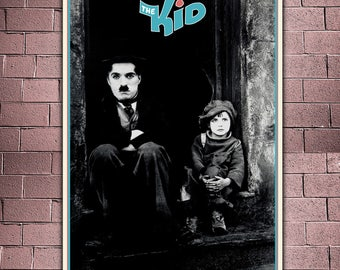 Film Poster The Kid - Charlie Chaplin - Formato: 50x70 CM