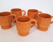 Ensemble de 5 tasses en c...
