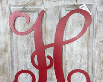Metal Monogram Door Hanger