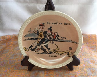 Vintage Norman Rockwell collectible plate