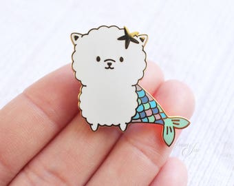 PoMERMAIDian - Hard Enamel Pin