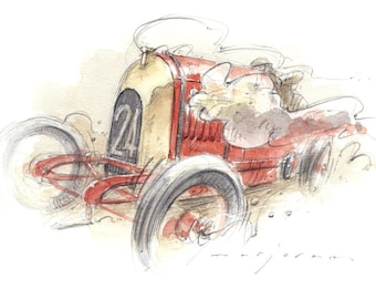 FIAT S76 Beast of Turin Limited Edition Print