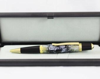 Shark Fin Acrylic Sierra Twist Pen