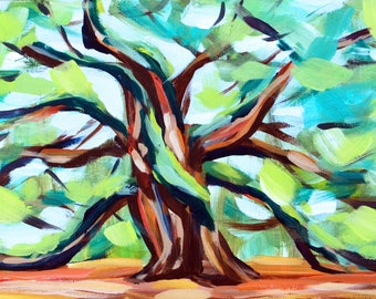 """Limited Edition Archival Print of """"Great Oak"""" by Meredith Piper"""