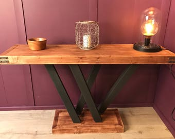 Side table / Rustic Console Table for the Hallway, Dining Room, Lounge,  Made to Order