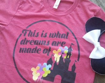 Lizzie McGuire Shirt / Disneyland Shirt / Disney World Shirt / Epcot Shirt / Animal Kingdom Shirt / Disney Vacation Shirt / Dreams Tee