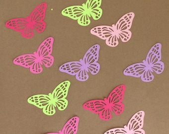 "20 - 1 1/2"" inch tall Butterfly Die Cuts  Set 47"