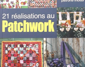 Book 9 - 21 achievements PATCHWORK - with diagrams and templates