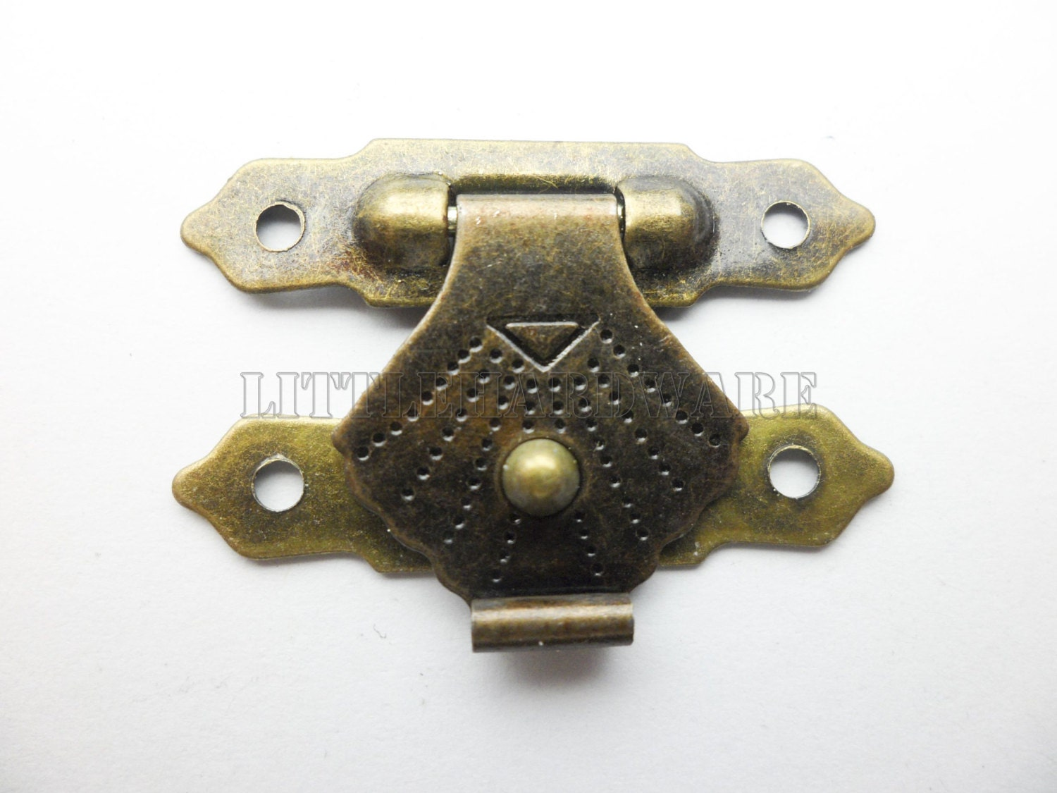 10PCS 30mmx20mm lock latch small box hardware jewelry box