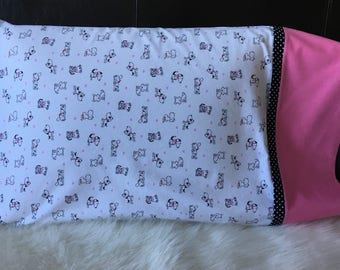 Puppy Love Pillowcases/pillowcasesforcancer/Puppies/Childhood Cancer Donation with each purchase!