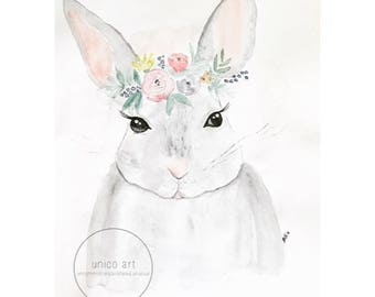 Flowercrown Rabbit