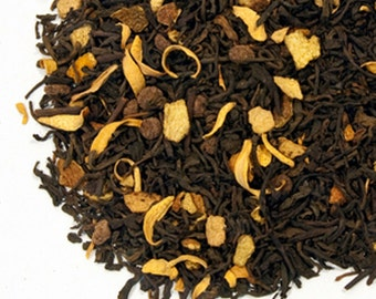 1 oz Dark chocolate orange black tea