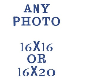 16x16 or 16x20 fine art photograph // large print,  your choice of image
