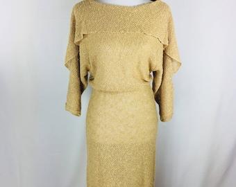 80s Lynda Pizzato for Phoebe Boho Dress