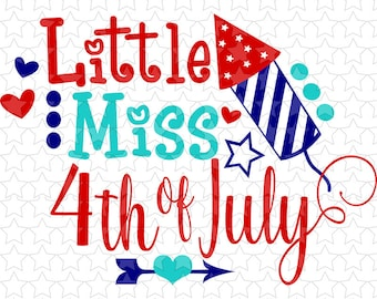 0110 Little Miss 4th of July
