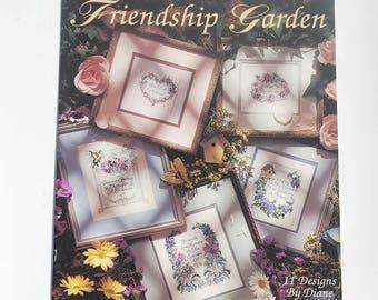 Friendship Garden -Leisure Arts - By Diane Brakefield - Leaflet 2595