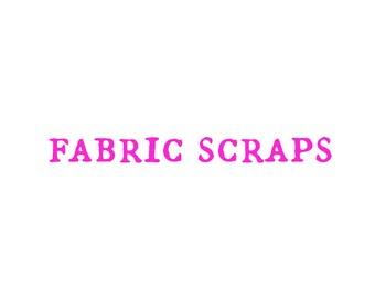 fabric scrap pack, designer fabric scrap, 12 oz fabric scraps, cotton fabric scraps, quilting cotton scraps, modern fabric scraps