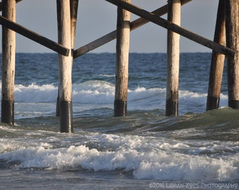 Pilings at Newport Beach - 1