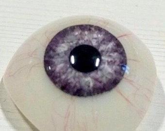 Lavender Artificial Eye Prosthetic Ocular
