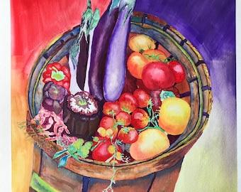 Basket of vegies