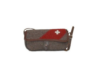 WD44 Swiss Army Blanket Purse by Karlen Swiss