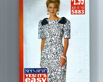 Butterick Misses' Dress Pattern 5883