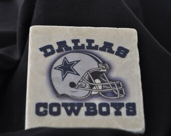 Dallas Cowboys Coasters Set of 4 Handcrafted