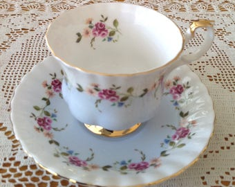 Royal Albert Bone China Teacup and Saucer Made in England