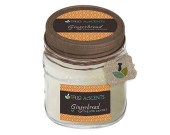 Tallow Candle – Gingerbread
