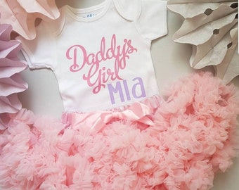 Personalised Daddy's girl top