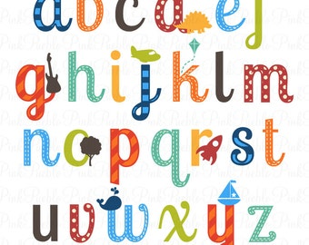 magazine letters clipart clip art newspaper magazine alphabet rh etsy com alphabet clip art fonts alphabet clipart images