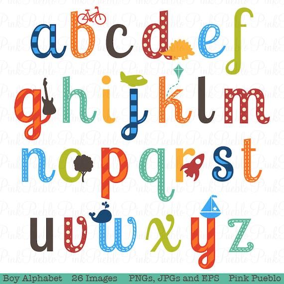 boy alphabet letters scrapbooking alphabet clipart clip art rh etsystudio com clipart alphabet letters arabic clipart alphabet letters arabic