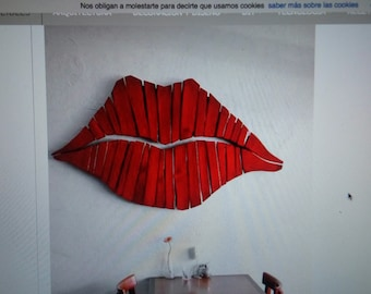 Red lips Wall Decor