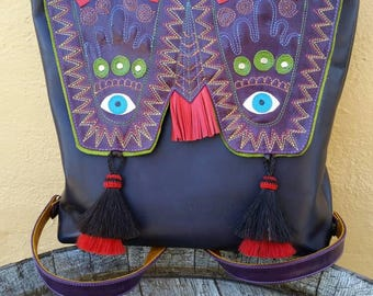 Mexican inspired backpack