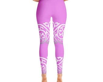 Pink Pattern Leggings