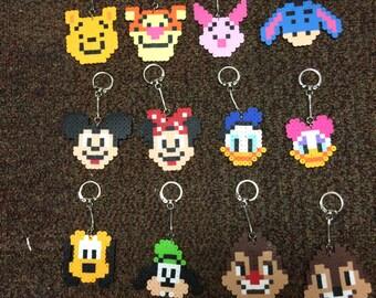Classic Disney Keychains - Homemade