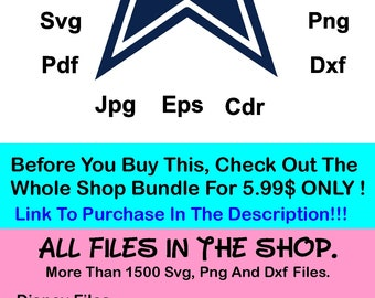 dallas cowboys svg etsy rh etsy com dallas cowboys clipart black and white dallas cowboys logo clipart