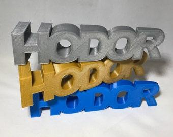 HODOR Door Stop | Hold the Door | HODOR Doorstop | holdthedoor | 3DPrint | GoT | Game of Thrones | Door Stopper | 3dprint | 3D Printed