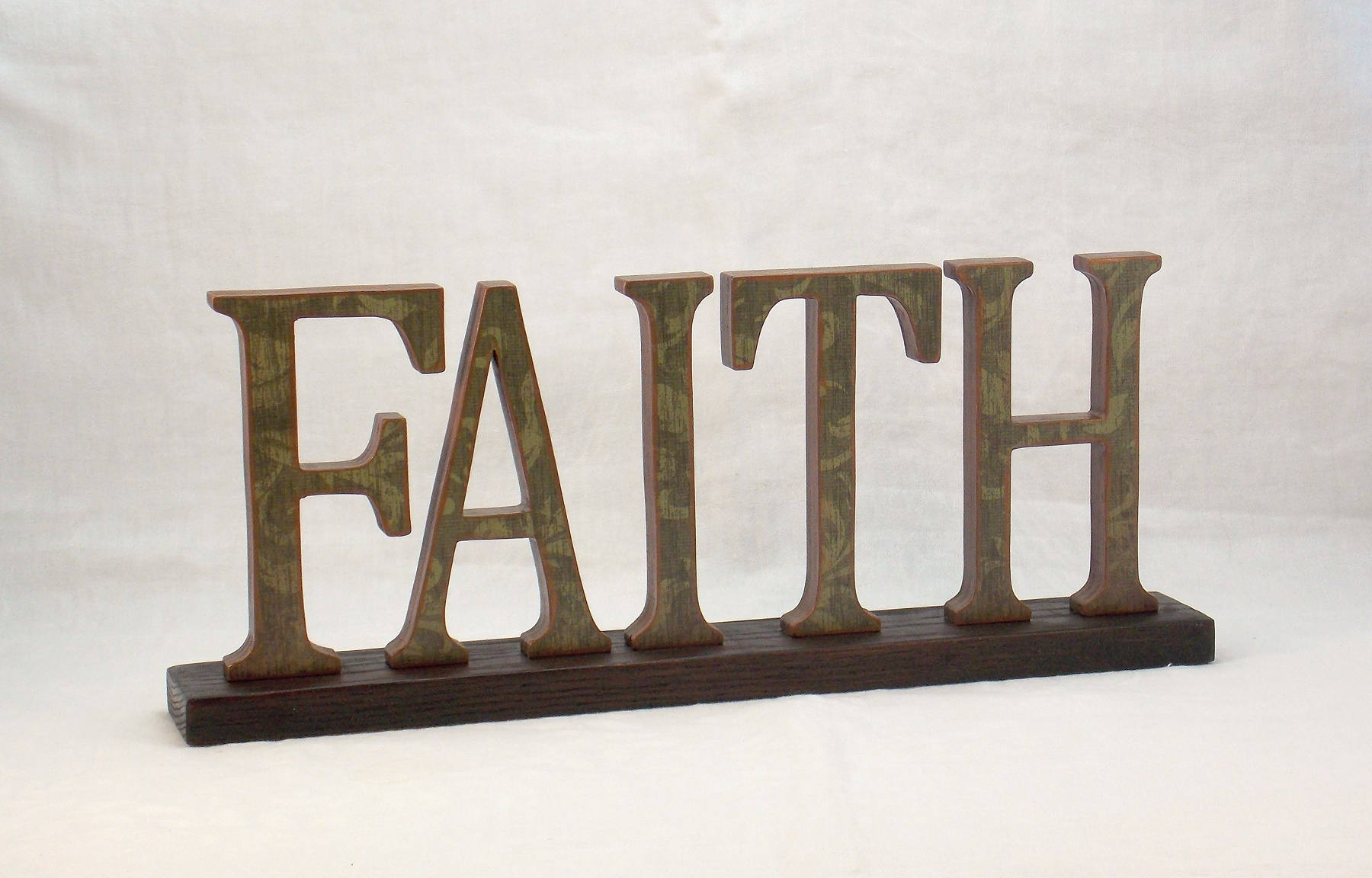 Make Words Of Faith Using The Letters Of Trust