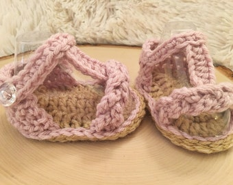 Crochet Baby sandals, baby girl sandals, baby girl shoes, girl shoes, baby girl sandals, summer baby shoes, baby beach shoes, spring shoes.