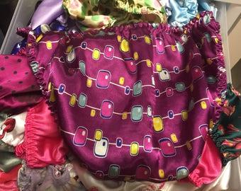 String Bikini Satin Panties! M/6