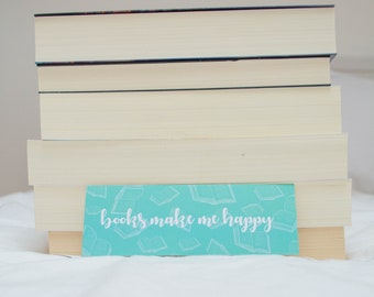 Bookmark ' Books make Me Happy '