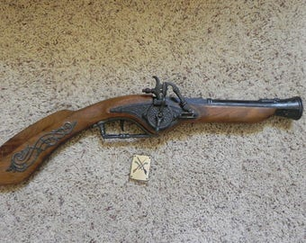 Spanish Replica Flintlock Musket Pistol