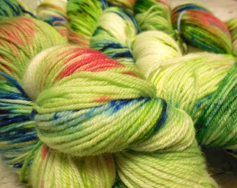 "I Want Your Socks ""Block Party"" Superwash Merino Nylon  fingering weight by AnniePurl"