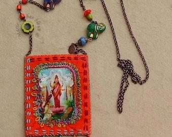 Lakshmi amulet