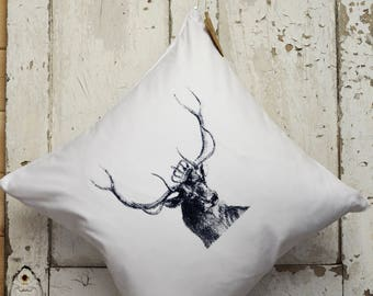 """Cushion Cover -  """"The Royal Collection"""" - Stag"""