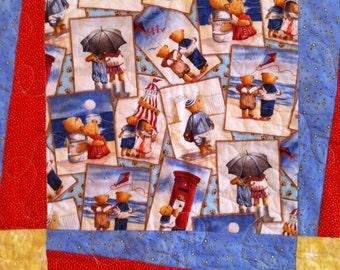 Teddy Bears in Love Quilt