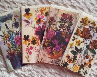 SALE. Beautiful Vintage Get Well Cards (9)