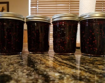 Delicious homemade jams and jellies