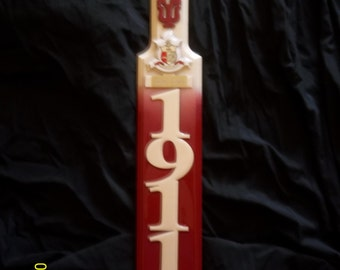 Kappa Alpha Psi trophy 3ft  paddle with FREE engraving and shipping